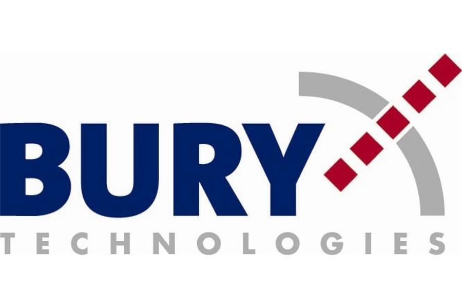Logo firmy BURY